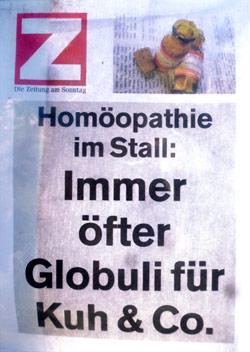 Zeitungs-Beitrag